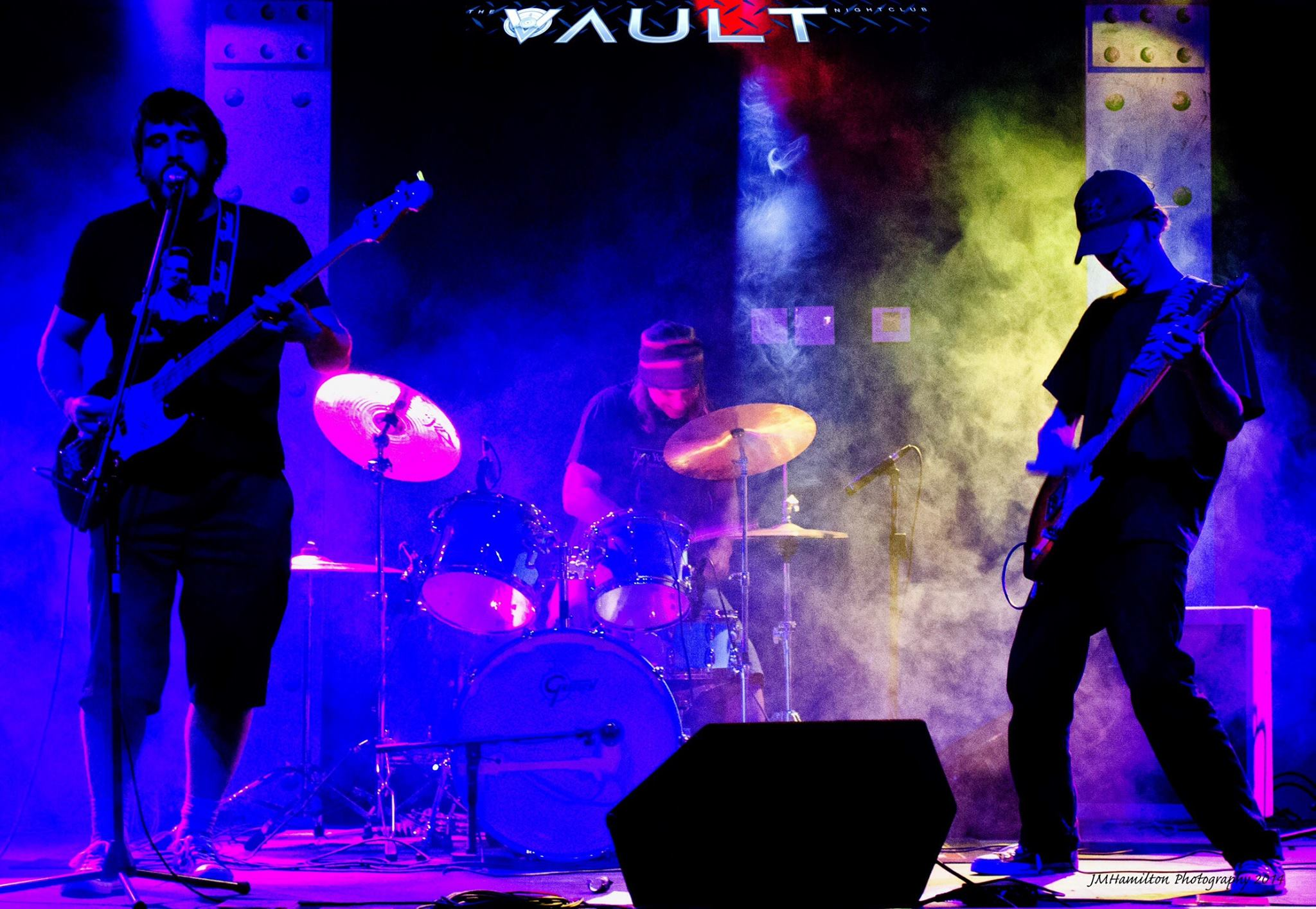 Doin' it live at The Vault, May 15, 2014